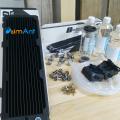 Фото Производительный комплект кастомной СВО для  видеокарты от simAntSVO