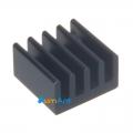 Фото Радиатор для электронных компонентов 8x8mm (черные)