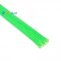Фото Нейлоновая оплетка для кабеля зеленая 10мм (УФ-Активная)
