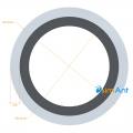 Фото Труба алюминиевая круглая анодированная 25х2мм