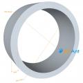 Фото Труба алюминиевая круглая 25х2мм