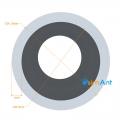 Фото Труба алюминиевая круглая анодированная 10х1мм