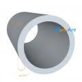 Фото Труба алюминиевая круглая 10х1мм