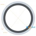Фото Труба алюминиевая круглая анодированная 35х2мм