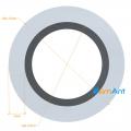 Фото Труба алюминиевая круглая анодированная 22х3мм