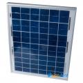 Фото Поликристаллическая солнечная батарея 10W 12В