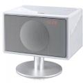 Фото Колонки акустические Geneva Sound System model S (with bluetooth + clock radio) White