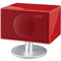 Фото Акустика для iPhone/iPod/iPad Geneva Sound System model S (with bluetooth + clock radio) Red