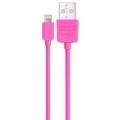 Фото USB-кабель для iPhone Remax Lightning/microUSB Aurora Cable (Rose)