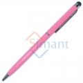 Фото Стилус емкостной с ручкой (светло-розовый)