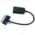 Фото USB OTG кабель (адаптер) для samsung GALAXY TAB (черный)