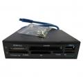 Фото Внутренний кардридер STLab с USB 3.0 для 3.5-дюймового отсека ПК (U-405)