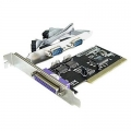 Фото Контроллер STLab RS232 (COM)+LPT (Parallel) каналов: 2+1 PCI (I-420)