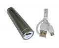 Фото Универсальная мобильная батарея LMS Data PBK-2600 titanium silver (2600 mAh)