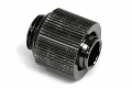 """Фото Штуцер Alphacool Screw connector external thread G1/4"""" on 13/10 - compact - black nickel plated"""