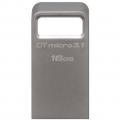 Фото Накопитель USB Kingston DT Micro 3.1 16GB Metal Silver USB 3.1 (DTMC3/16GB)