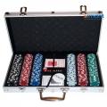 Фото Покерный набор в алюминиевом кейсе на 300 фишек