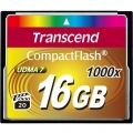Фото Карта памяти Transcend CompactFlash 16GB 1000x (TS16GCF1000)