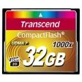Фото Карта памяти Transcend CompactFlash 32GB 1000x (TS32GCF1000)