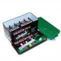 Фото Покерный набор в железной коробке на 200 фишек