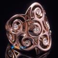 Фото Кольцо Марго в позолоте