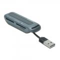 Фото Картридер Digitus Ednet USB 2.0 Notebook Card Reader (85234)