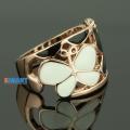 Фото Кольцо Бабочки в позолоте