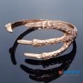 Фото Браслет металлический Лапка золото