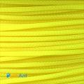 """Фото Нейлоновая оплетка """"змеиная кожа"""" 3мм (яркий желтый)"""