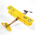 Фото Самолет (биплан) резиномоторный ZT Model Aviator 430мм