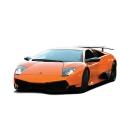Фото Машинка микро на р/у ShenQiWei Lamborghini LP670 1:43 Orange
