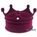 Фото Подарочная упаковка для кольца Принцесса бордовая